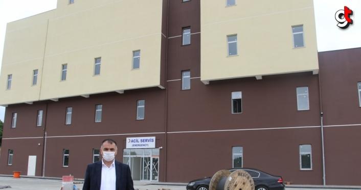 Salıpazarı Devlet Hastanesinin haziran ayı sonunda açılması planlanıyor