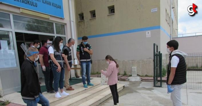 Samsun'da LGS sınavı başladı
