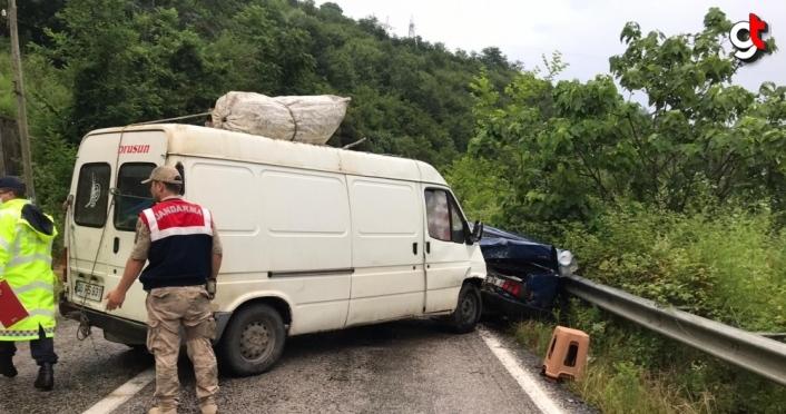 Samsun'da trafik kazaları: 9 yaralı