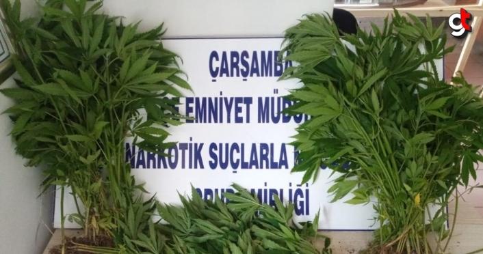 Samsun'da uyuşturucu operasyonunda karı koca gözaltına alındı