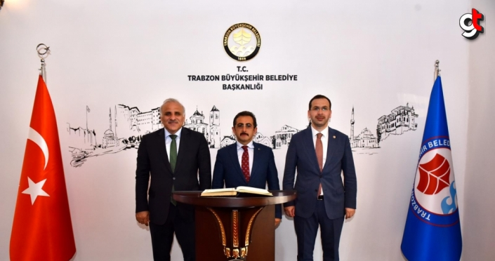 Tarım ve Orman Bakan Yardımcısı Mustafa Aksu'dan Zorluoğlu'na ziyaret