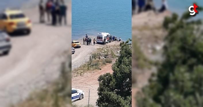 Tokat'ta Almus Baraj Gölü'ne giren kişi boğuldu