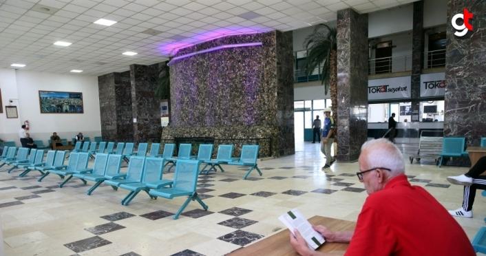 Tokat'ta şehirler arası otobüs terminali hizmet vermeye başladı