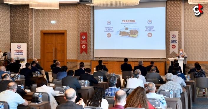 Trabzon için yeni Ulaşım Master Planı hazırlanıyor
