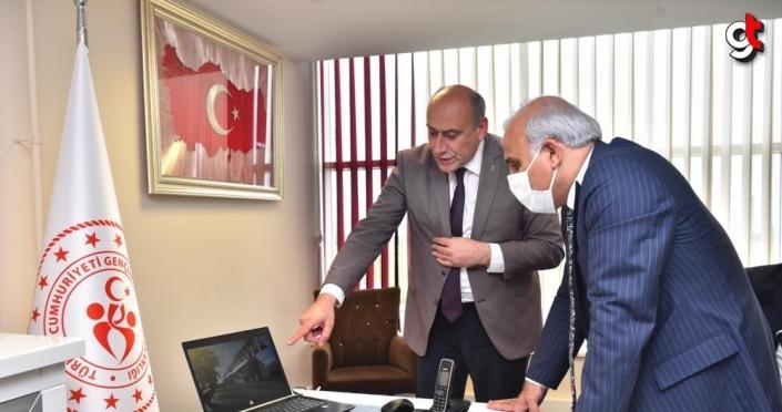 Trabzon'da 4 bin kişi kapasiteli iki tribün inşa ediliyor