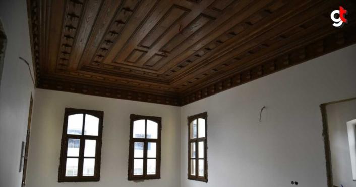 Trabzon'daki tarihi bina yöresel lezzetlere ev sahipliği yapacak