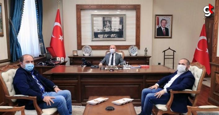 Vali Varol'a İstanbul SGK Müdürü Göktaş'tan ziyaret