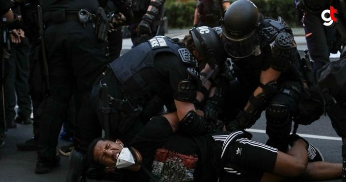 Washington'da ırkçılık ve Trump karşıtı yüzlerce protestocuya gözaltı