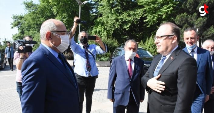 Zonguldak Valisi Mustafa Tutulmaz görevine başladı