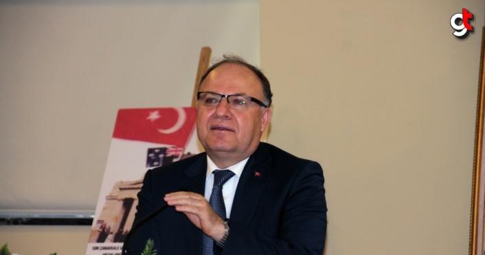 Zonguldak Valisi Mustafa Tutulmaz'dan Ereğli'ye ziyaret