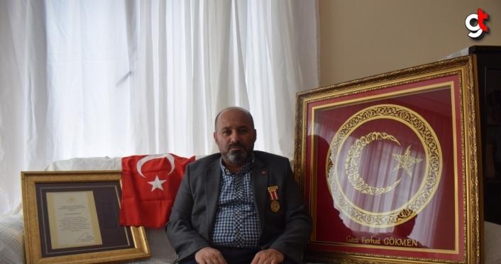 15 Temmuz gazisi Ferhat Gökmen yaşadıklarını unutamıyor