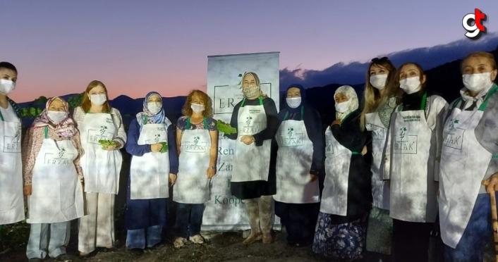 AK Parti Grup Başkanvekili Özlem Zengin'den Erzak Kadın Kooperatifi'ne ziyaret