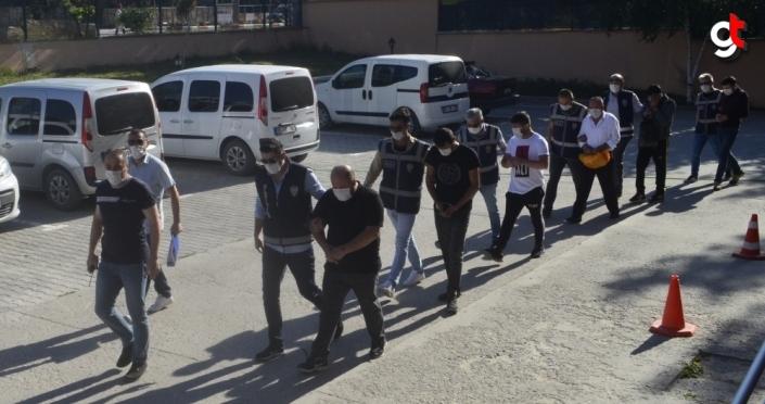 Amasya merkezli dolandırıcılık operasyonunda gözaltına alınan 6 kişi tutuklandı