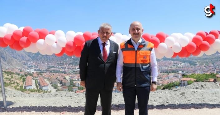 Bakan Karaismailoğlu, Amasya Çevre Yolu Açılış Töreni'nde konuştu: