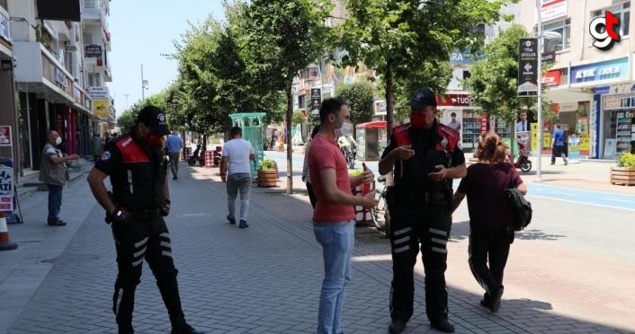 Bolu'da maske takmayan 458 kişiye 412 bin 200 lira idari para cezası uygulandı