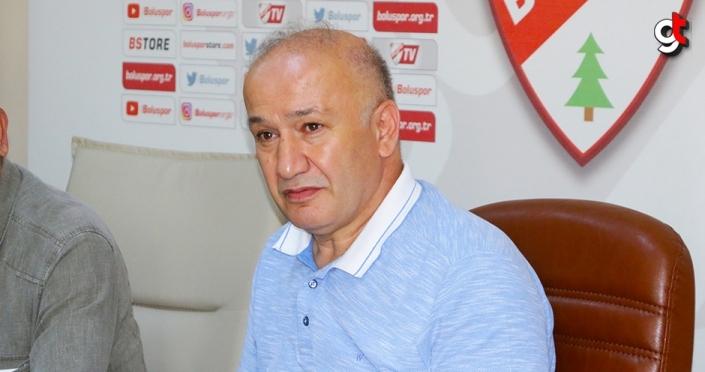 Boluspor Kulübü Başkanı Çarıkcı: