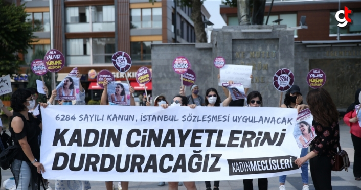 Düzce'de Pınar Gültekin cinayeti protesto edildi