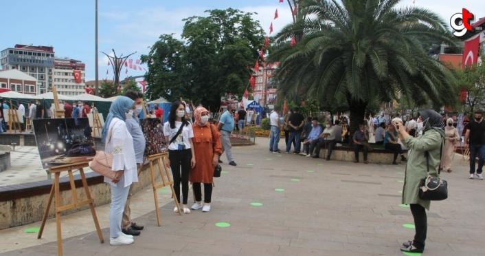 Giresun'da AA'nın 15 Temmuz fotoğraflarının yer aldığı sergi açıldı
