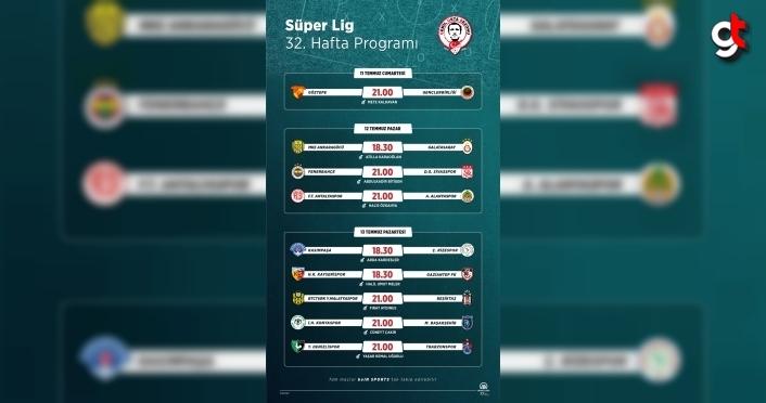 GRAFİKLİ - Futbol: Haftanın programı