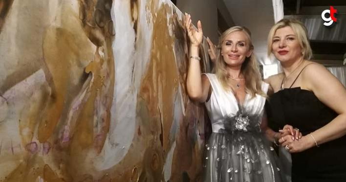 Gülten İmamoğlu Samsun'da sanatseverlerle buluştu