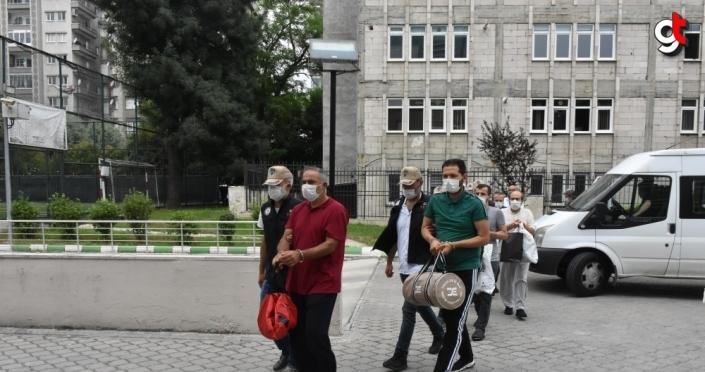 Samsun'da 11 FETÖ zanlısı serbest bırakıldı