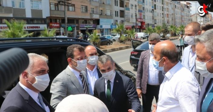 İBB Başkanı İmamoğlu, bayram için memleketi Trabzon'u ziyaret etti