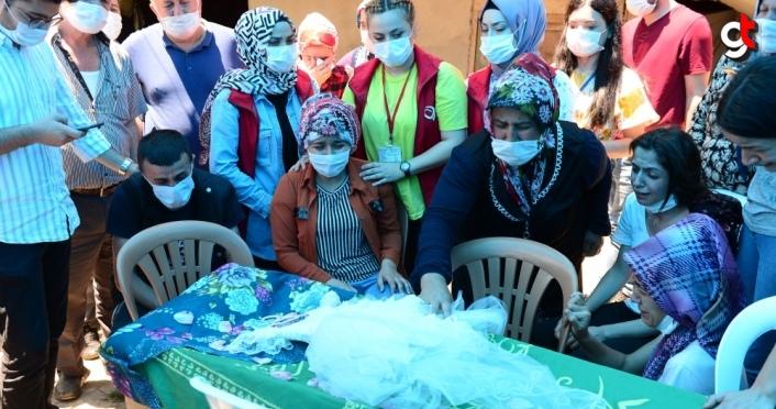 İkra Nur Tirsi'nin cenazesi köyüne getirildi