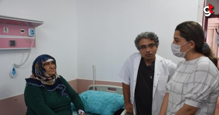 İşitme kaybıyla gittiği hastanede beyninden tümör çıkarıldı