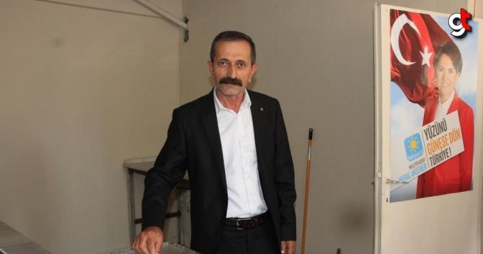 İYİ Parti Havza İlçe Başkanı Abdullah Baş oldu