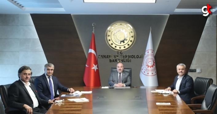 Karabük heyeti Bakan Varank'ı ziyaret etti