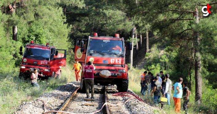 Karabük'te ormanlık alanda çıkan yangın kontrol altına alındı