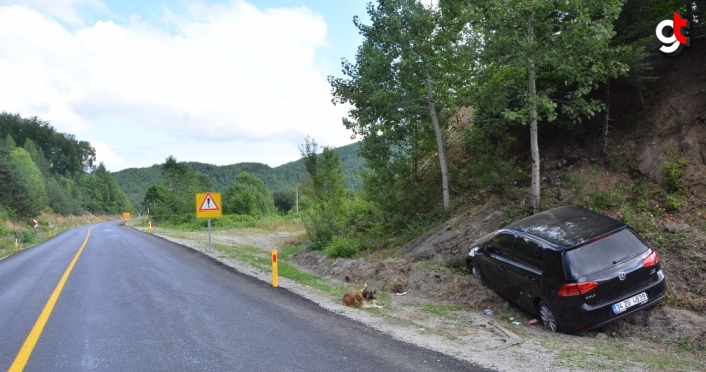 Kastamonu'da trafik kazaları: 6 yaralı