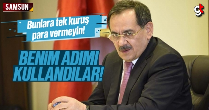 Mustafa Demir'den dolandırıcılık uyarısı
