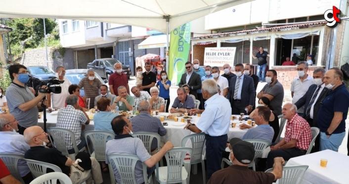 Ordu Büyükşehir Belediye Başkanı Güler, vatandaşlarla buluştu