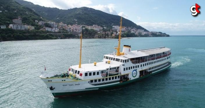 Ordu'da atıl durumdaki gemi restore edilerek turizme kazandırıldı