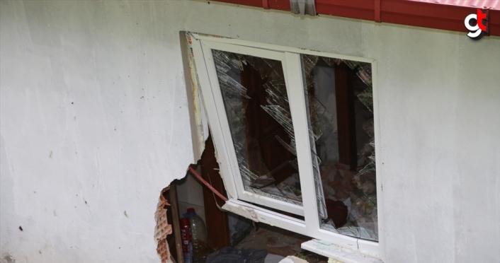 Ordu'da kaya parçasının çarptığı evdeki 5 kişiyi çamaşır makinesi korudu