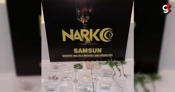 Samsun'da uyuşturucu operasyonlarında 5 şüpheli yakalandı