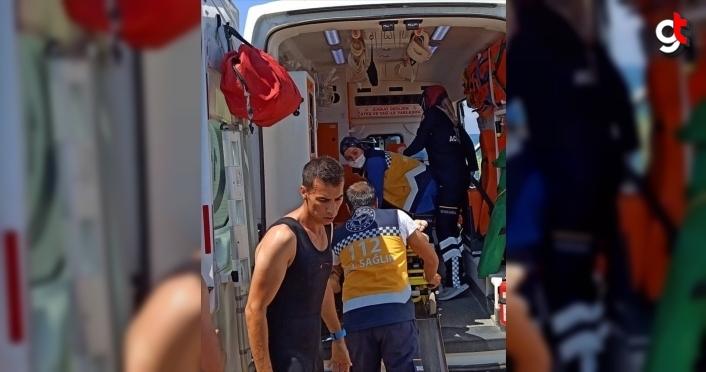 Sinop'ta havuza düşüp boğulma tehlikesi geçiren çocuk hastaneye kaldırıldı