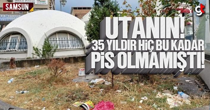 Subaşı Yer Altı Camii, 35 yıldır hiç bu kadar çöp içinde kalmamıştı