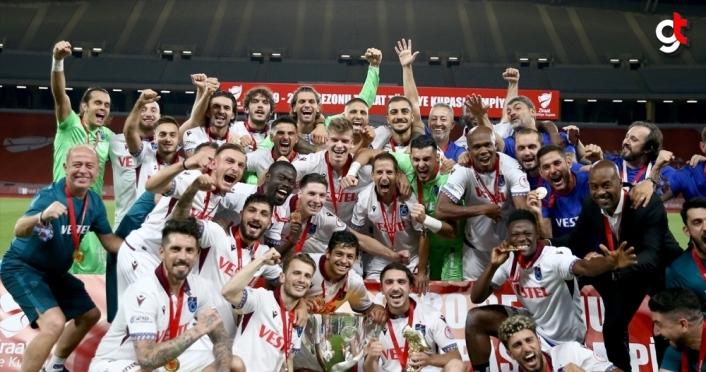 Trabzonspor, 9. kez Türkiye Kupası'nı kazandı