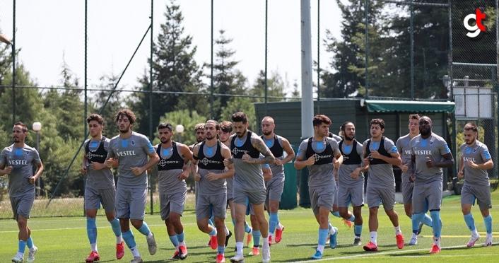 Trabzonspor, Hes Kablo Kayserispor maçı hazırlıklarına başladı