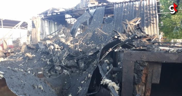 Zonguldak'ta fabrikanın buhar kazanı patladı: 1 ölü