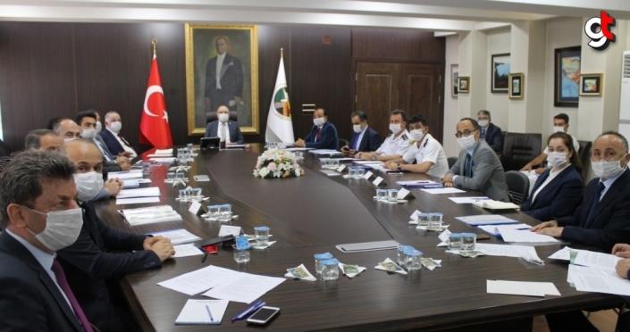 Zonguldak'ta güvenlik ve asayiş toplantıları yapıldı