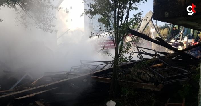 Bolu'da evde çıkan yangında felçli hasta öldü