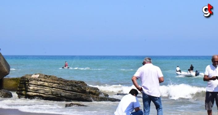 Düzce'de denize giren 8 yaşındaki çocuk boğuldu