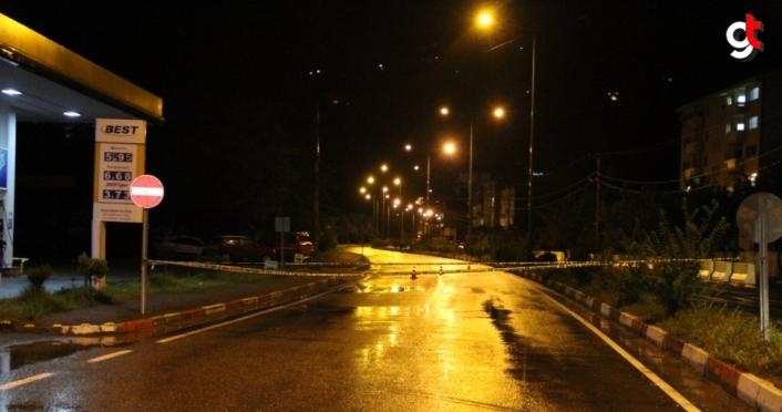 Giresun'da şiddetli yağış nedeniyle Yağlıdere ilçesine ulaşım kesildi