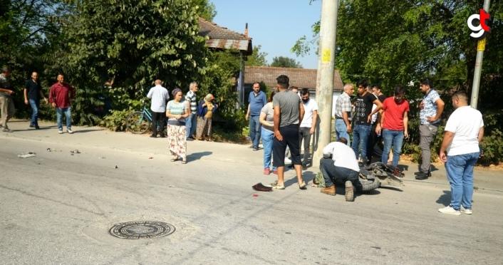 GÜNCELLEME - Otomobilin elektrikli bisiklete çarpması sonucu bir çocuk ve babası öldü, kardeşi ağır yaralandı