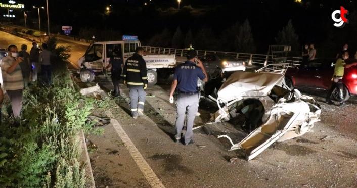 Karabük'te çalıntı otomobille kaza yapan kişi ağır yaralandı
