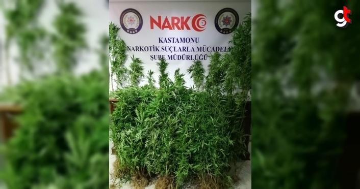 Kastamonu'da uyuşturucu operasyonunda yakalanan 2 kişi tutuklandı