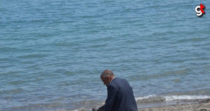 Ordu'da denizde kaybolan genci arama çalışmaları sürüyor